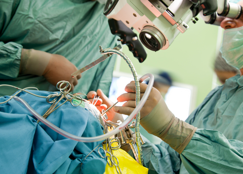 Minimally invasive aortic valve replacement procedure